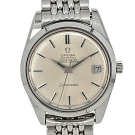 OMEGA Seamaster Chronometer Silver Dial Cal.654 Automatic Watch