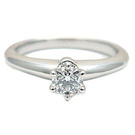 Tiffany & Co. 0.19ct Platinum Diamond Solitaire Ring