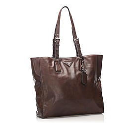 Soft Calf Leather Tote Bag