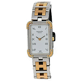 HERMES Croisiere CR1.240 Stainless&Gold Plated Quartz Women's Watch