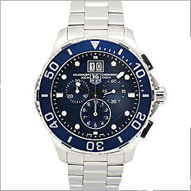 Tag Heuer Aquaracer CAN1011 Stainless Steel Quartz 43mm Mens Watch