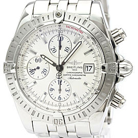 Polished BREITLING Chronomat Evolution Steel Automatic Watch A13356