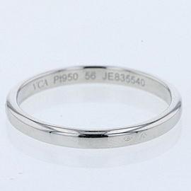 VanCleef & Arpels 950 Platinum Ring Tandrumon EU56