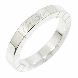 CARTIER 18K White Gold Lanieres Ring CHAT-140