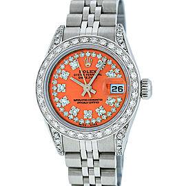 Rolex Datejust 79160 Stainless Steel & 18K White Gold Diamond 26mm Watch