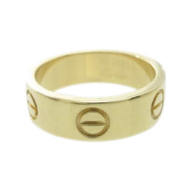 Cartier Love 18K Yellow Gold Ring Size 5.25
