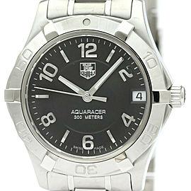 Polished TAG HEUER Aquaracer Steel Quartz Unisex Watch WAF1310