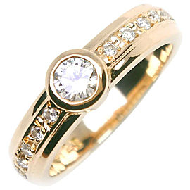 TASAKI 18k yellow gold/diamond Ring