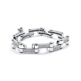 Charriol 18k White Gold Bracelet