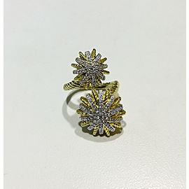 David Yurman Starburst collection 18k Yellow Gold 0.44ct Ring