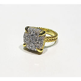 David Yurman Chatelaine Collection 18k Yellow Gold 1.20 ct Ring