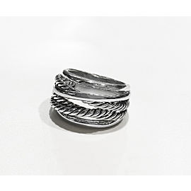 David Yurman Crossover Collection Sterling Silver Ring