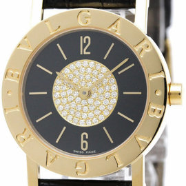 Bulgari Bvlgari BB30DGL 18K Yellow Gold Quartz 30mm Unisex Dress Watch