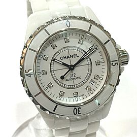 CHANEL H1629 White Ceramic J12 Wrist watch