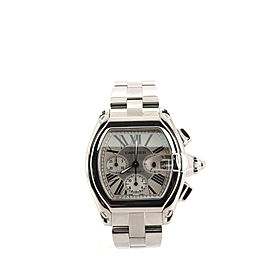 Cartier Roadstar Chronograph Automatic Watch Stainless Steel 43