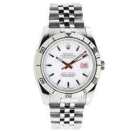 Rolex 36MM Turn-O-Graph Stainless Steel
