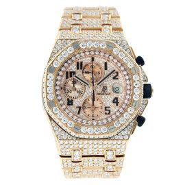 Audemars Piguet Royal Oak Offshore Chronograph Rose Gold with Diamonds