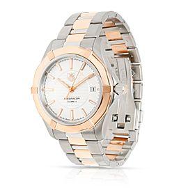 Tag Heuer Aquaracer WAP2150.BD0885 Men's Watch in 18kt Stainless Steel/Rose Gold
