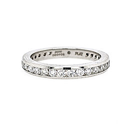 Jeff Cooper R-3107/E Platinum Diamond Ring