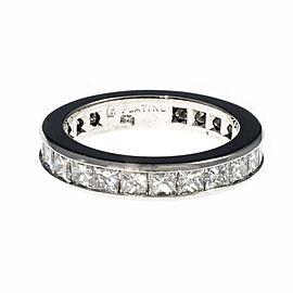 Platinum Diamond Eternity Band Ring Size 6