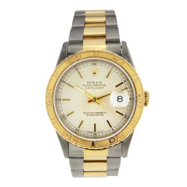 Rolex Datejust 36mm Vintage Two Tone with Index Markers 36mm 16263