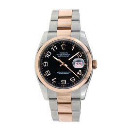 Rolex Oyster Perpetual Datejust Stainless Steel & 18K Rose Gold 36mm