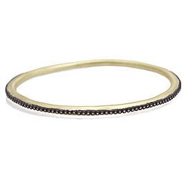 Armenta 18k Yellow Gold; Blackened Sterling Silver Bracele