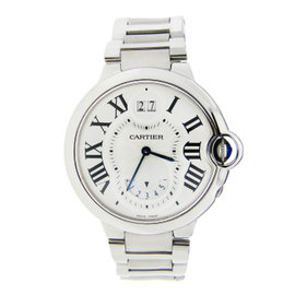 Cartier Ballon Bleu Stainless Steel with Annual Calander & Date Wheel 38mm