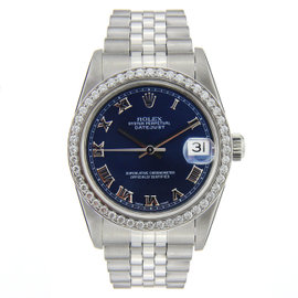 Rolex Datejust Stainless Steel with Diamond Bezel 31mm