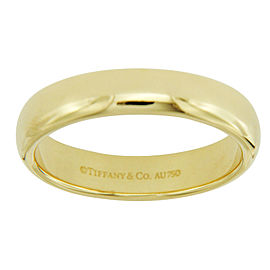 Tiffany & Co. 18K Yellow Gold Wedding Band Ring Size 8.75