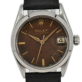 ROLEX 6466 Oyster Date tropical Dial Cal.1213 Hand-winding Watch