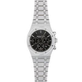 Audemars Piguet Royal Oak 41MM Chronograph Watch Stainless Steel Black Dial Watch
