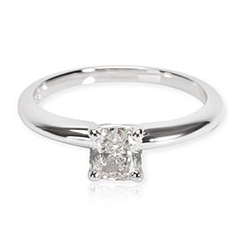Blue Nile Diamond Engagement Ring in 14K White Gold GIA I SI2 0.71