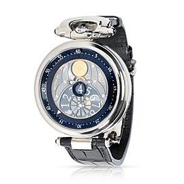Bovet Fleurier Amadeo Jump Hour AFHS002 Men's Watch in 18kt White Gold