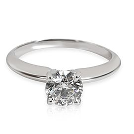 Forevermark Solitaire Diamond Ring in Platinum E SI1 0.9