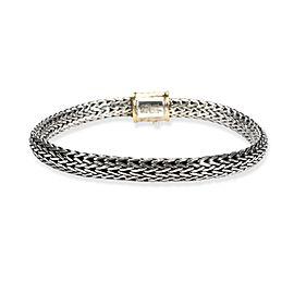 John Hardy Chain Bracelet in 18K Yellow Gold/Sterling Silver
