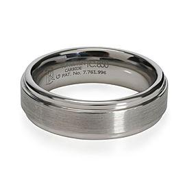 Blue Nile Comfort Fit Tungsten Carbide Men's Wedding Band