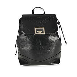 Givenchy Black Textured Calfskin Id Backpack