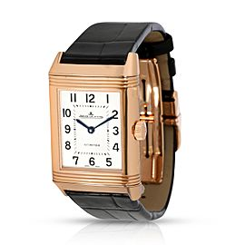 Jaeger Lecoultre Reverso Duetto Q2572420 Women's Watch in 18kt Rose Gold
