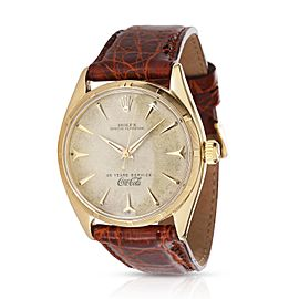 Rolex Oyster Perpetual 6565 Men's Watch in 14kt Yellow Gold