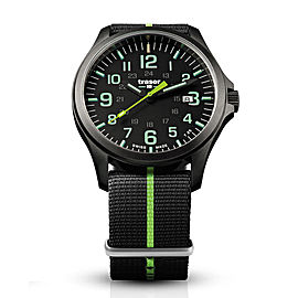 Traser P67 Officer Pro GunMetal Black/Lime 107426
