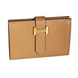 Hermès Alezan Epsom Mini Béarn Wallet
