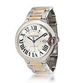 Cartier Ballon Bleu W69009Z3 Men's Watch in 18kt Stainless Steel/Yellow Gold