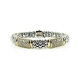 Lagos Sterling Silver 1.44tcw; G-H; VS2 Diamond Bracelet