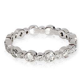 Tiffany & Co. Jazz Diamond Band in Platinum 0.62 CTW