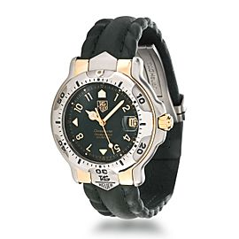 Tag Heuer 6000 Series WH5153-K1 Men's Watch in 18kt Stainless Steel/Yellow Gold