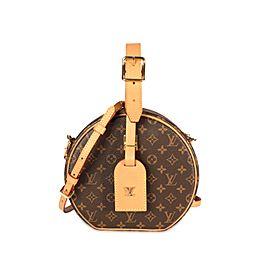 Louis Vuitton Monogram Canvas Petite Boite Chapeau Bag