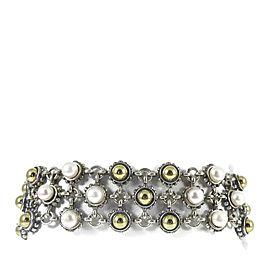 Lagos Sterling Silver Pearl Bracelet