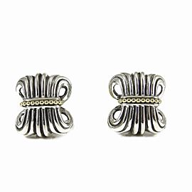 Lagos Sterling Silver Earrings