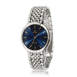 Omega De Ville 395.8075 Unisex Watch in Gold Plate